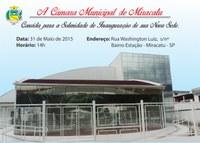 Convite Inauguração da Nova Sede