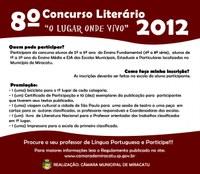 8º Concurso Literário - O lugar onde vivo - Regulamento