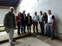 Arquiteto Gilmar faz visita técnica à obra da Câmara Municipal de Miracatu