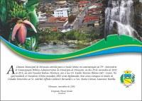 Convite Sessão Solene em Comemoração ao 74º Aniversário do Município