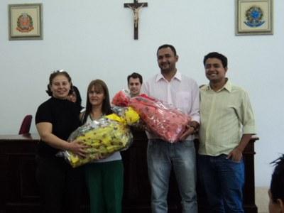 Diretores das Escolas Premiadas - Poeta e Santa Rita