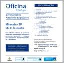 Inscrições abertas para Curso Cerimonial no Ambiente Legislativo da Interlegis