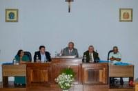 População e autoridades prestigiam Sessão Solene de Aniversário do município