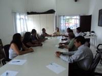 Presidente da Câmara faz reunião com Líderes da Comunidade Evangélica local.
