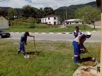 Obras são reiniciadas no novo prédio da Câmara Municipal de Miracatu